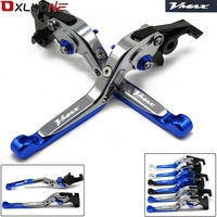 For Yamaha V MAX VMAX 1200 2009 2016 Foldable Extendable Brake Clutch Levers 2009 2010 2012 2013 2014 2015 2016
