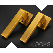 72MM CENTRAL DISTANCE COFFEE COLOR EURO DESIGN DOOR LOCK FOR 35-50 MM THICKNESS