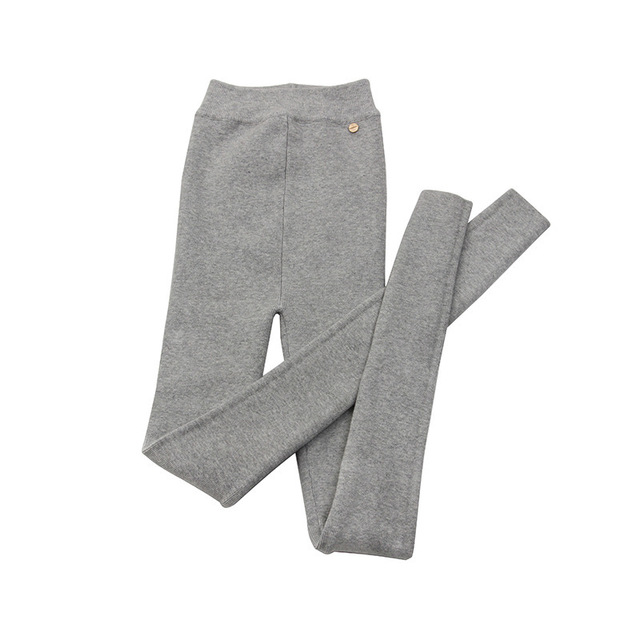 QLZW 2018 New Autumn Winter Fashion Pencil Pants Elastic Waist Skinny High Street Outfit Leggings Female Trousers WB50302