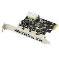 PROMOCJA SZYBKA E PCIE 4 PORTY USB 3.0 PCI Express Adapter Karty Rozszerzeń