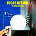 35cm Free shipping r Landscape garden sphere lamp Lights Rechargaeble lamp