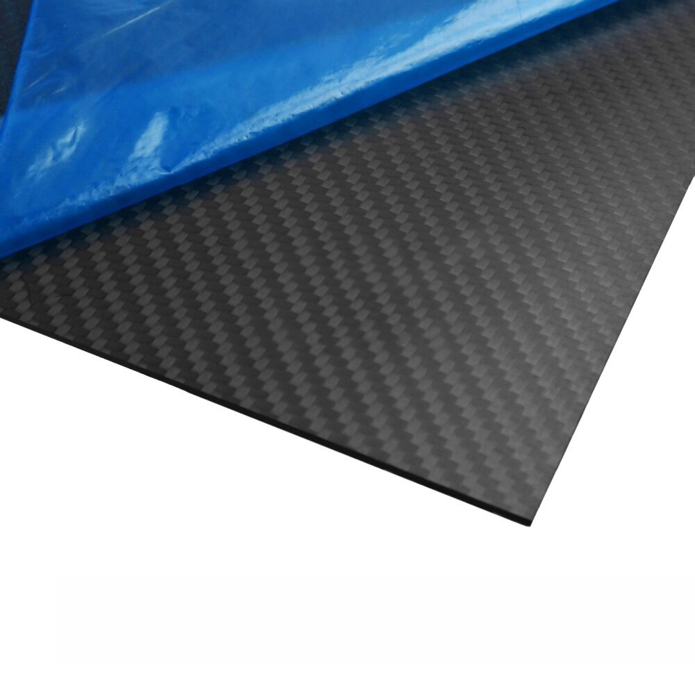 T700 Mixed Thickness 2.0mm and 4.0mm 400X500mm Twill Matte Surface 3K 100% Carbon Fiber Plate Sheet for Drone 1 5mm x 1000mm x 1000mm 100% carbon fiber plate carbon fiber sheet carbon fiber panel matte surface