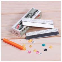 2016 Razor Fimo Polymer Clay Canes Rods Blade Cutter for 3D Nail Art Decorations Fruit Sticks Charms Slices Tools Foil DIY Set