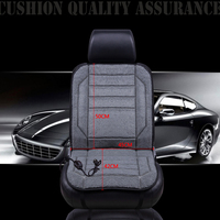Universal Household Heater Car Seat Cover Heater Heating Pads Cushion 12V Warmer Winter Interior Accessories Car