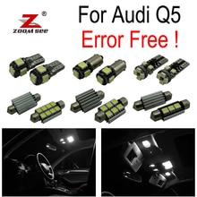 30 шт. X canbus Error Free для Audi Q5 Светодиодный лампа для чтения интерьер плафон комплект посылка(2009