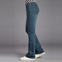ICPANS Mens Flare Jeans Man Vintage Broek Hoge Taille Flares Jeans Voor Mannen Bootcut Blauw Jeans Hommes bell bottom jeans mannen