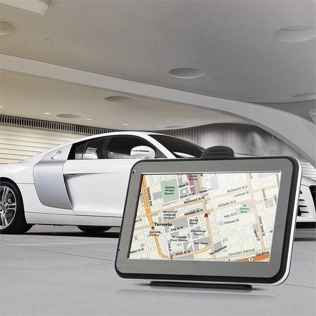 Hot venda nova 4.3 polegada HD Touchscreen Car Navegação GPS 4 GB + Free Europe Map Apoio tk102b Veículo Navigator FM Music Video