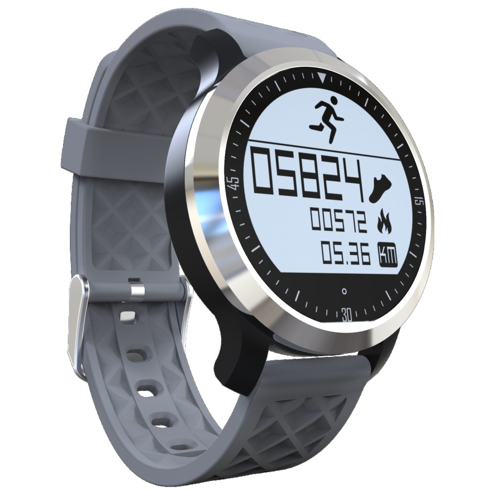 PARAGON Swimming IP68 Waterproof Smartwatch F69 Smart watch Real time Heart rate monitor Wrist watches Pedometer