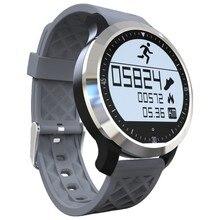 พารากอนว่ายน้ำIP68กันน้ำS Mart W Atch F69สมาร์ทนาฬิกาเวลาจริงh Eart rate monitorนาฬิกาข้อมือPedometer F68 MOTO360