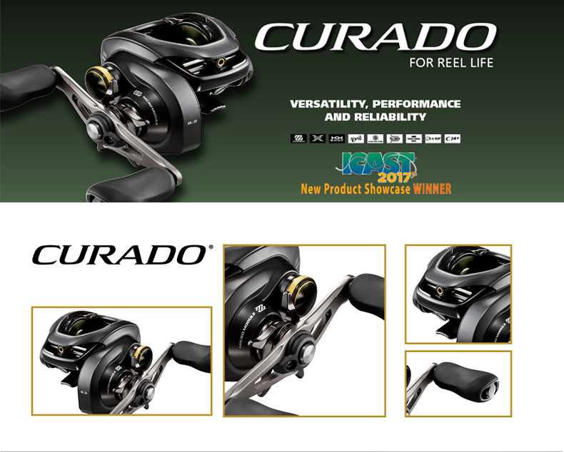 Shimano CURADO 200XG Baitcasting Reel