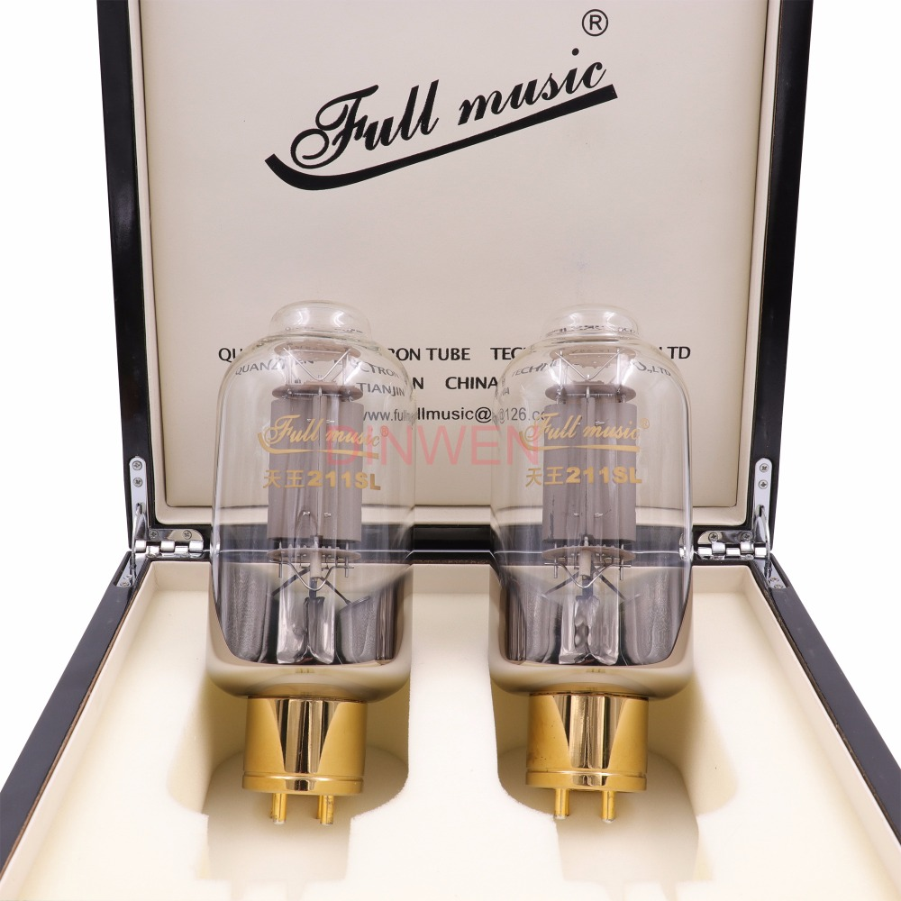 TJ Fullmusic Premium King 211SL Vacuum Tube 211/CNE Upgraded Edition Big Bulb For Vintage HIFI Tube AMP DIY Matched 1pair brand new matched pair quad tj fullmusic kt88 cne kt88cne vacuum power tube replace kt88 6550 hifi vintage tube audio amp diy