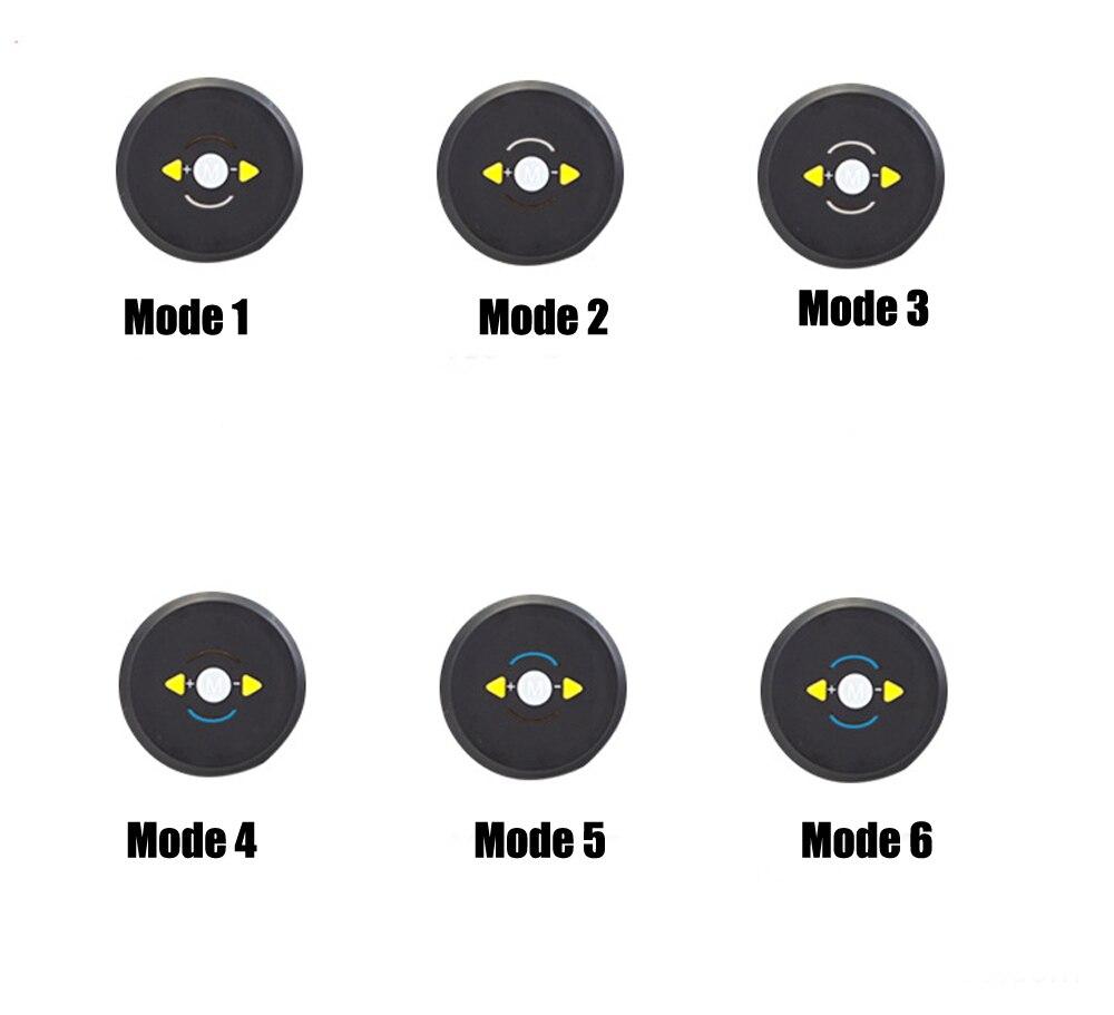 EMS Abs Training Belt Control Modes