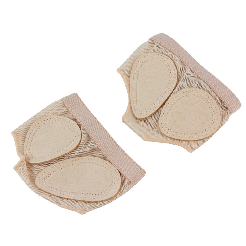 1 Pair Foot Protector Forefoot Dance Paws Cover Toe Undies Shoes Ballet Gymnastics Dance Latin Practice Foot Set Front ProtectZA