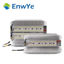 EnwYe LED LODINE TUNGSTEN 50W 100W Floodlight Flood Light 220V LED Spotlight Refletor LED Outdoor Lighting Gargen Lamp newest(China)