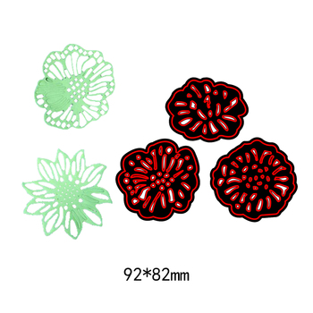 Flowers Metal Cutting Dies Stencils for DIY Scrapbooking/photo album Decorative Embossing DIY Paper Cards new fashion