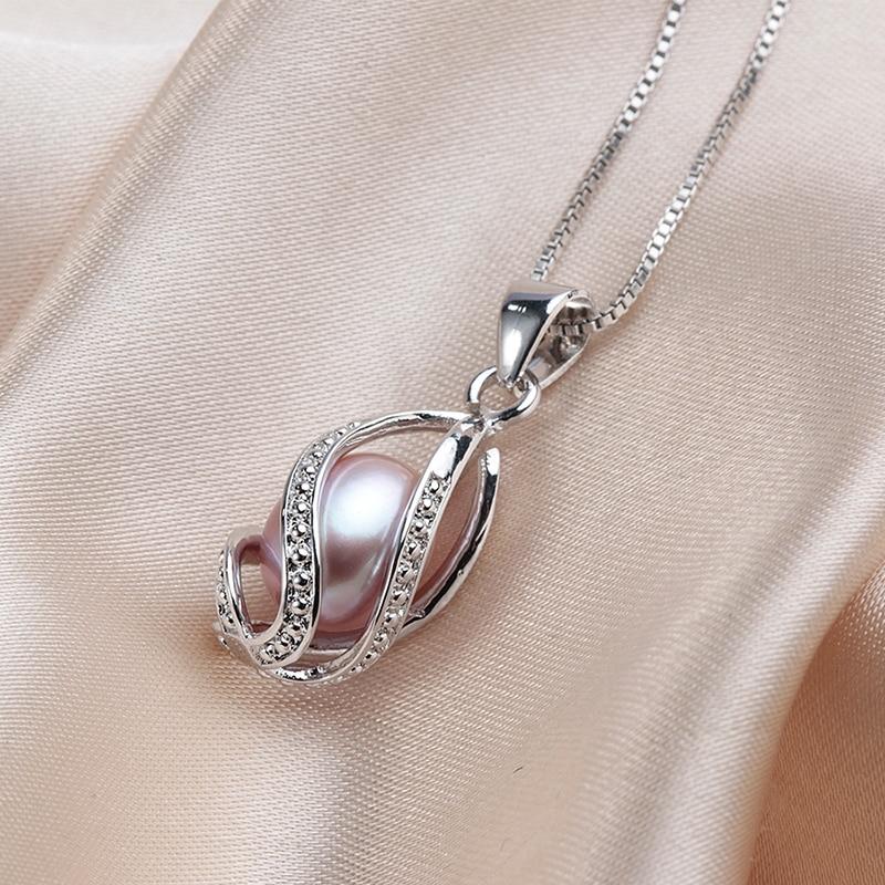 YIJIA Classic Հատուկ ձևավորում 8-9 մմ բնական - Նուրբ զարդեր - Լուսանկար 4
