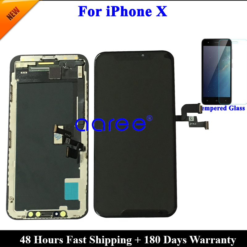 Lcd-Display Lcd-Screen Digitizer iPhone X Assembl AMOLED Touch for Tested