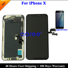Tested AMOLED LCD Display For iPhone XS LCD Display For iPhone X OLED Display LCD Screen Touch Digitizer Assembl