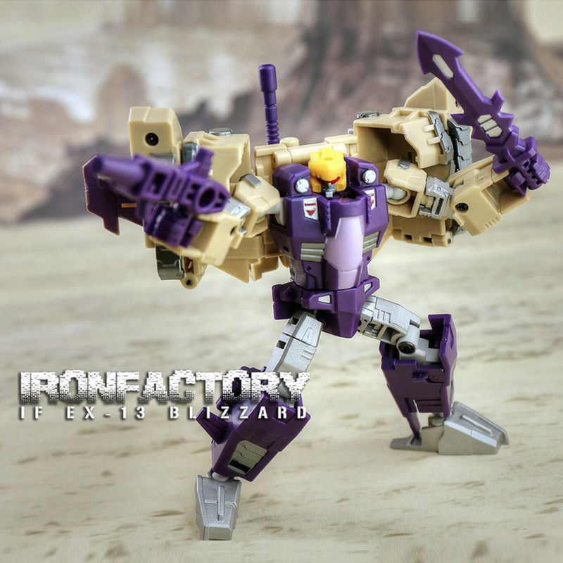(IN STOCK) Toy IronFactory TF IF EX-13 Blitzwing