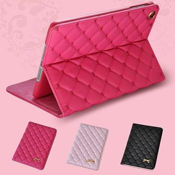 Bow Magnetic Faux Leather Smart Case Stand Cover for iPad 2 3 4 5 Air 2 Mini 1 2 3 4 Office & School Supplies