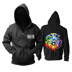Image 1 - Bloodhoof Muse 2015 The concert Mous punk progressive rock band black top hoodie   Asian Size