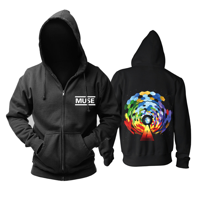 Bloodhoof Muse 2015 The concert Mous punk progressive rock band black top hoodie   Asian Size