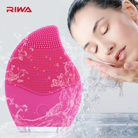 RIWA R2 Electric Ultrasonic Facial Cleaner Vibrate Waterproof Silicone Skin Cleansing Brush Skin Care Tool Vibrating