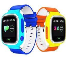 50 teile/los 2016 Heißer Smart Baby Uhr Q60 GPS Tracker für Kinder 1,22 Touchscreen Smartwatch Anti Verloren Mit SOS Baby Geschenk Großhandel