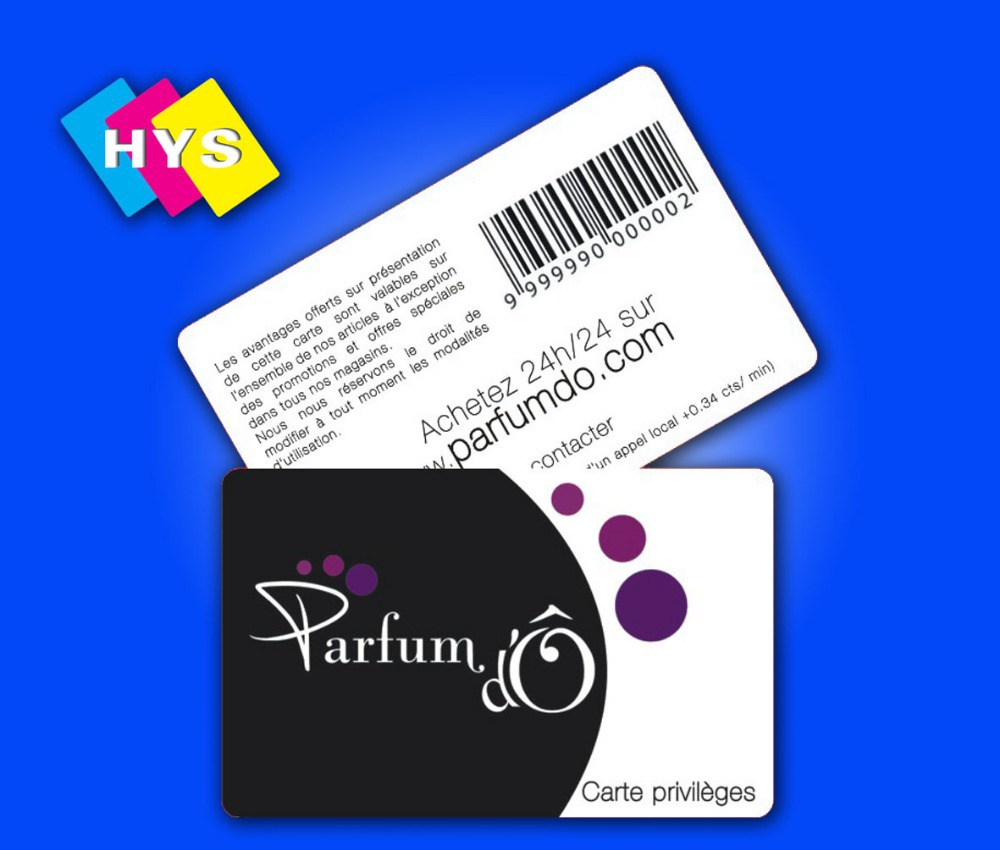 QR Code Plastic Card Printing and member business card Supplier-in ...