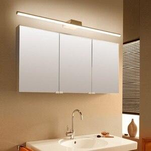 Image 4 - NEO Gleam Đen/Trắng 0.4 1.2 M Hiện Đại Đèn Gương Chống sương mù DẪN đèn Phòng Tắm bàn trang điểm/nhà vệ sinh/phòng tắm đèn gương