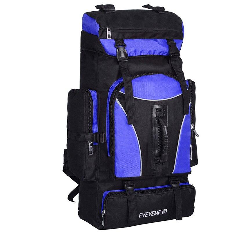 60L unisexe étanche alpinisme randonnée escalade Camping en plein air sac à dos Molle sac de sport sac à dos