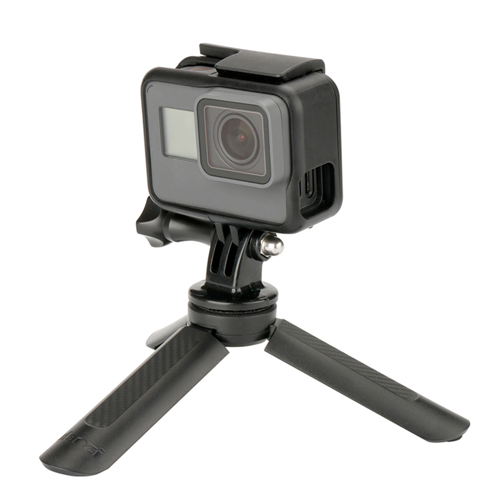 Mini Triple Mount Tabletop Stand Bracket Tripod with 1/4 Screw for DJI OSMO 2 Zhiyun Smooth Feiyu Vimble Gimbal Accessories