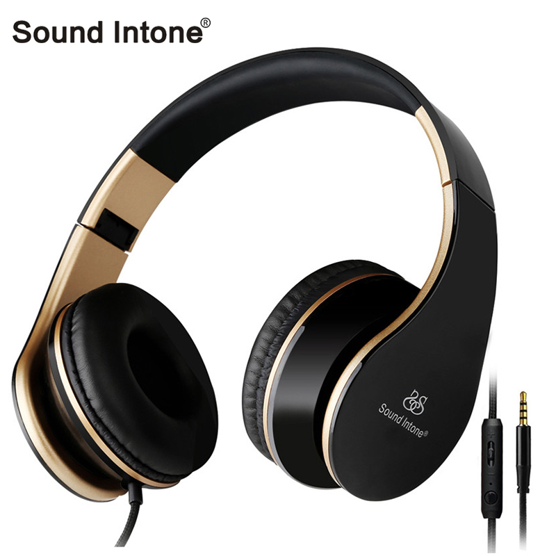 Sound Intone I65 Wired Headphones with Microphone Volume Control Stereo Bass Headsets for iphone for xiaomi for samsung MP3 PC plus big size 34 43 sandals ladies platforms lady fashion dress shoes sexy high heel shoes women pumps a25