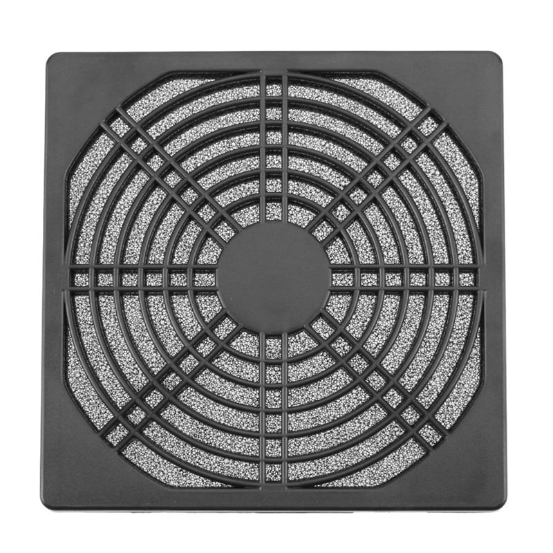 Rarido 1pcs Dustproof 120mm PC Case Fan Dust Filter Guard Grill Protector Cover Plastic Computer Cooling Fan Cooler Radiator Cover Net