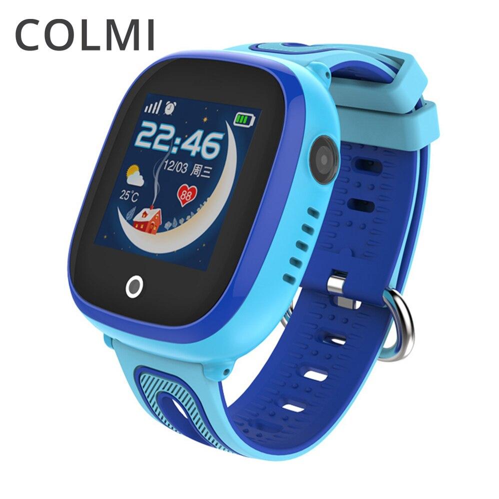 Colme de N ° 1 niños inteligentes relojes GPS LBS posicionamiento bebé llamada SOS ubicación Anti-perdido Smartwatch PK Q50 q90 Q100 Q750