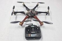 JMT Drone F550 FlameWheel Комплект С QQ HY ESC Мотор Углеродного Волокна Винты + Радиолинк 6-КАНАЛЬНЫЙ TX RX