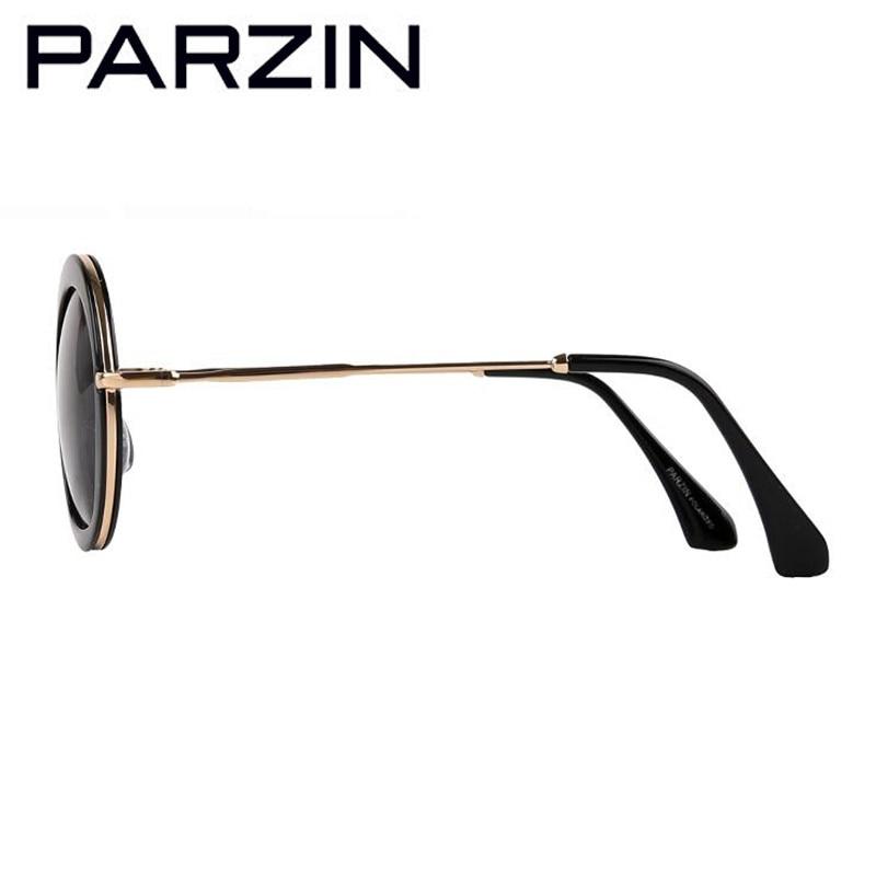 PARZIN Vintage Putaran Sunglasses Wanita Retro Polarized Sunglasses - Aksesori pakaian - Foto 4