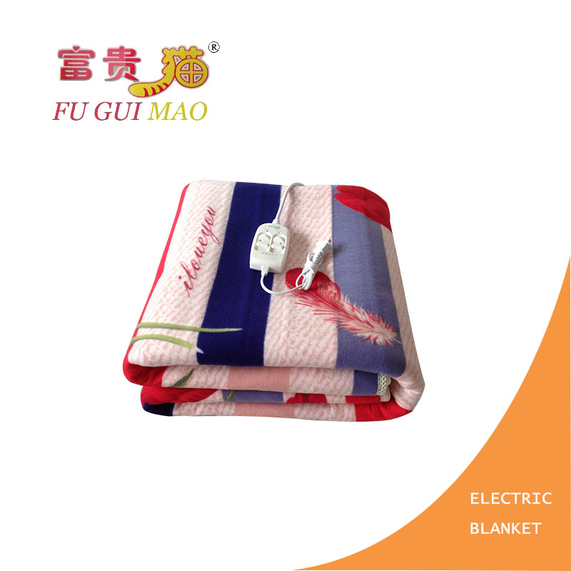 ФОТО FUGUIMAO Electric Blanket 180*200 Electric Heating Blanket Plush Manta Electrica 220v Mattress Heated Blanket Body Warmer