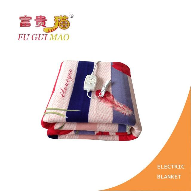 FUGUIMAO Electric Blanket 180*200 Electric Heating Blanket Plush