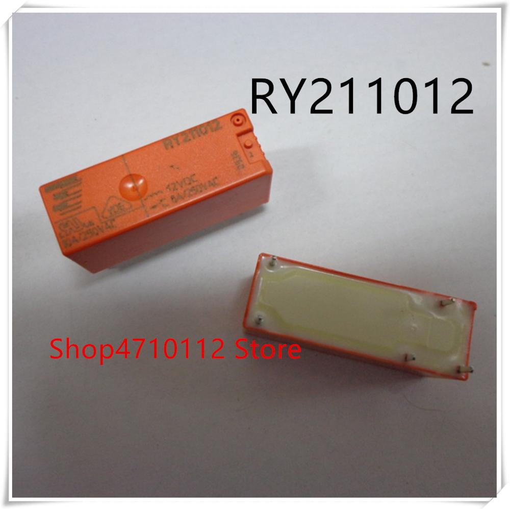 NEW 10PCS LOT RY211012 8A 250VAC 12VDC DIP 5