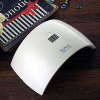 Sun9s 24W UV Led Nail dryer sunLight Lamp for Nails with LCD Digital Display
