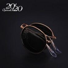 20/20 Hombres A Estrenar Doblado gafas de Sol Mujeres Gafas de Sol Polarizadas UV400 Retro Gafas de Marco de Metal gafas De Sol Oculos