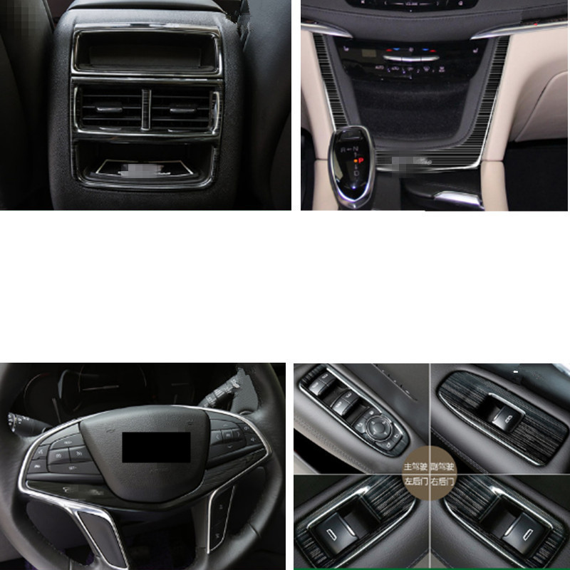 For cadillac xt5 car styling stainless steel air - Cadillac cts interior accessories ...