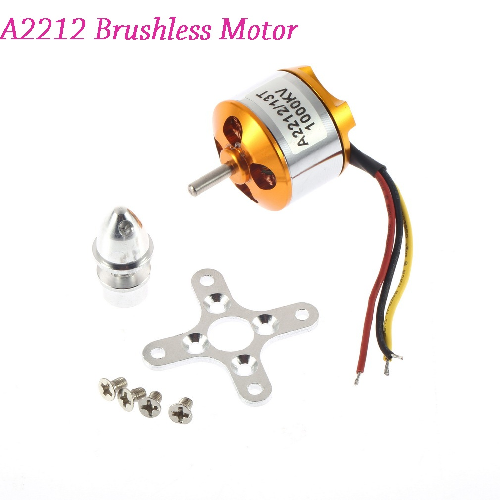 1pcs A2212 Brushless Motor 930KV 1000KV 1400KV 2200KV 2700KV For RC Aircraft Plane Multi-copter Brushless Outrunner Motor slimming face massager stick 24k gold vibration facial beauty roller lift tightening wrinkle stick bar face skin care with box