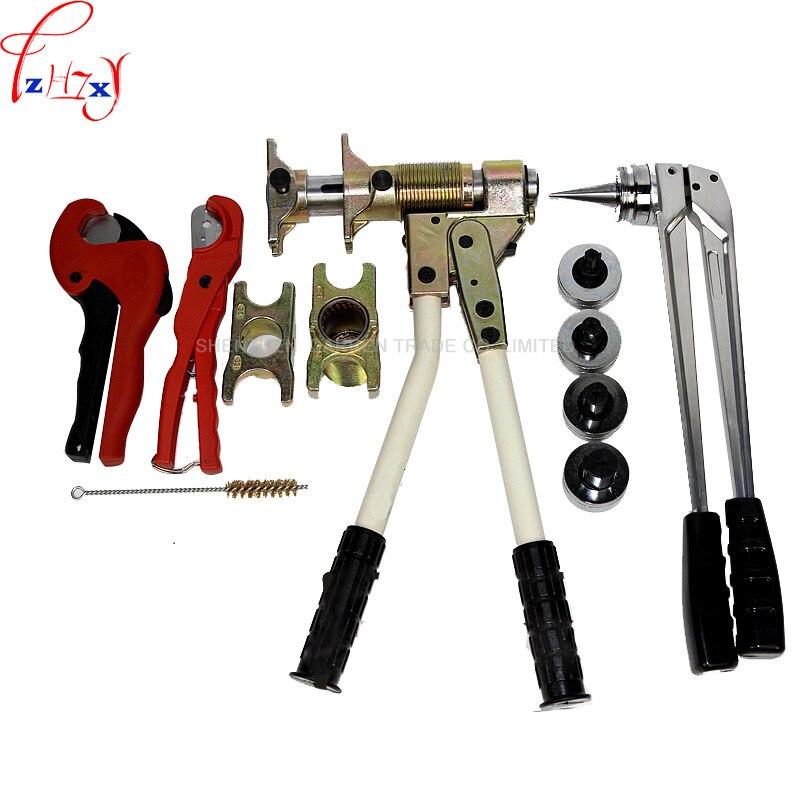 Pex фитинг инструмент PEX 1632 диапазон 16 мм 32 мм используется для REHAU фитинги хорошо полученные Rehau сантехника инструмент 1 компл.