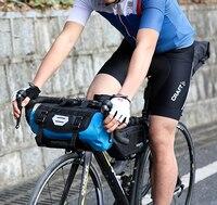 2017 New ATTACK Bicycle Front Tube Bag Bike Handlebar Bag Pack Bike Baskets Cycle Cycling Storag