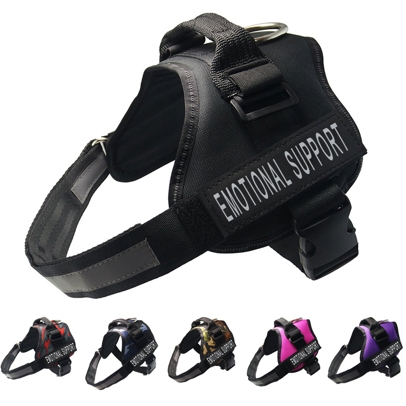FML Pet Harnesses for Dogs Reflective Collar for Dogs Pet Accessories Adjustable Dog Harness for Large Dog Harness Vest harnais sécurité chien