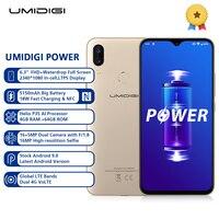UMIDIGI POWER 4G Phablet 6.3 inch Android 9.0 Helio P35 Octa Core 2.3GHz 4GB RAM 64GB ROM 16.0MP Front Camera 5150mAh SmartPhone
