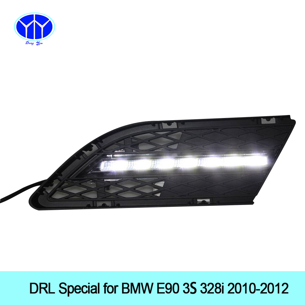 Car DRL Kit for BMW F25 X3 2011-2014 LED Daytime Running Light Bar super bright auto fog lamp daylight for car led drl light 12v high power super bright drl led daytime running light daylight lamp kit fog lamp cover for bmw x6 e71 2008 2012 2009 2012