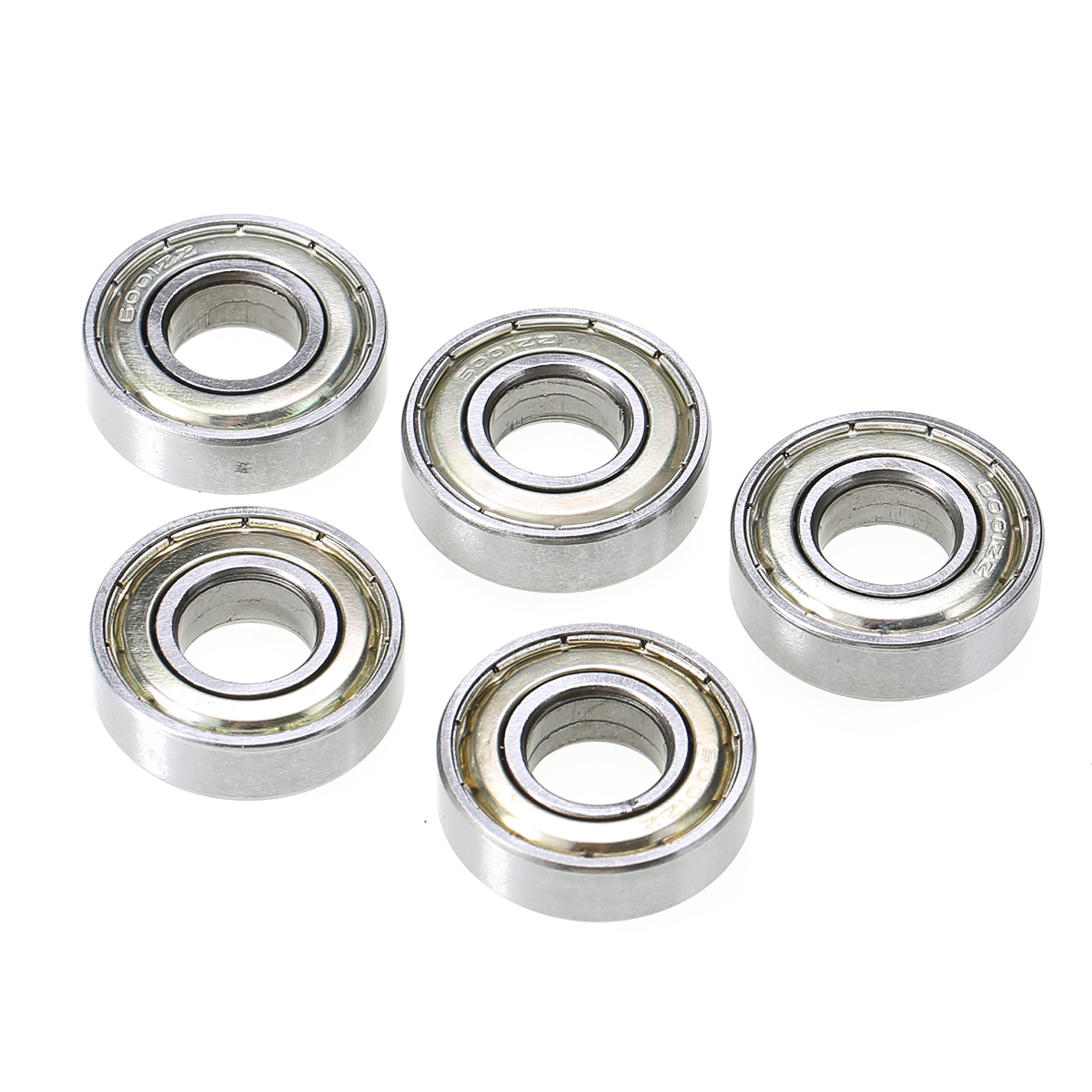5PCS 6001ZZ Deep Groove Metal Double Shielded Ball Bearing Set 12mm*28mm*8mm